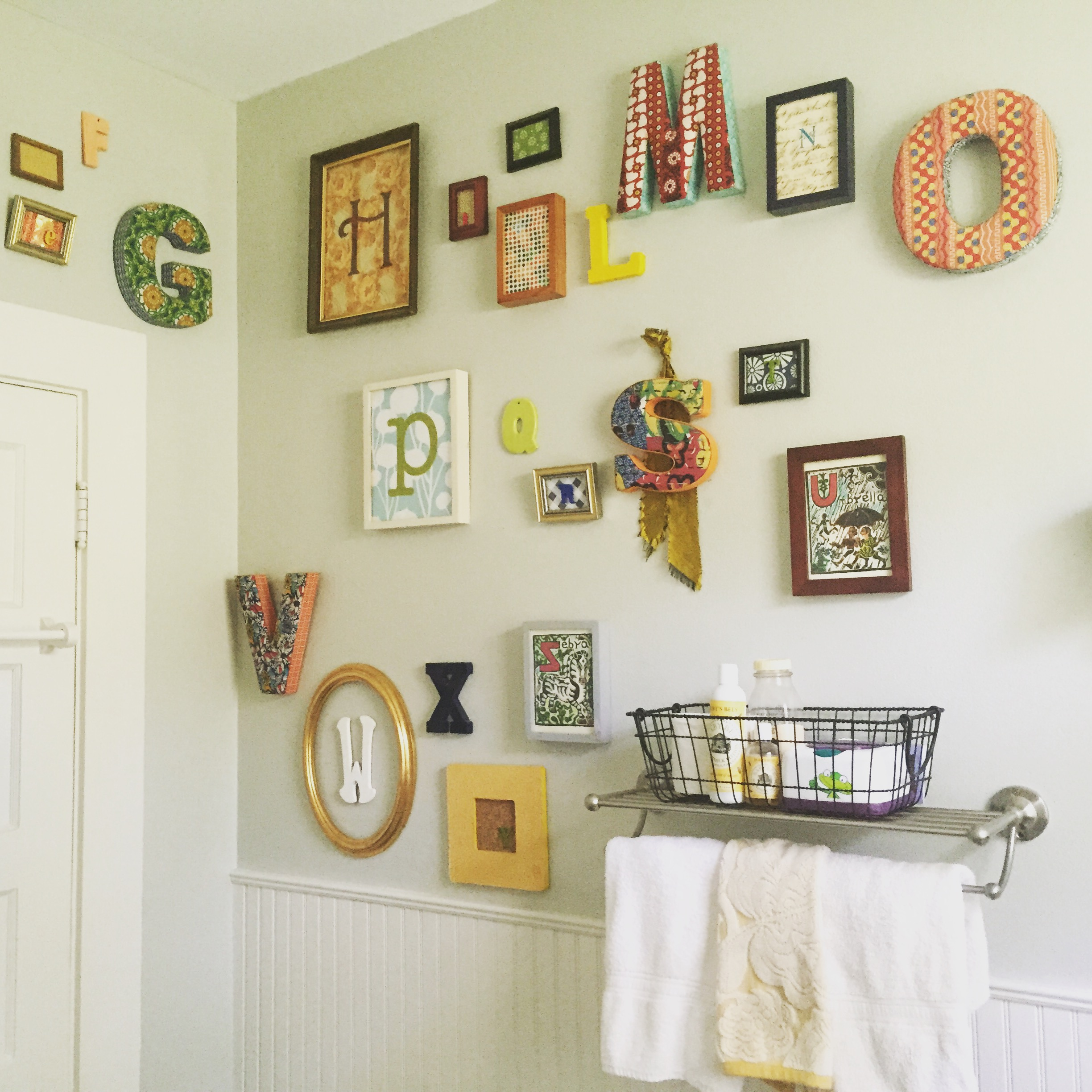 gathered | from little to big boy bathroom | Hunt & Gather Home